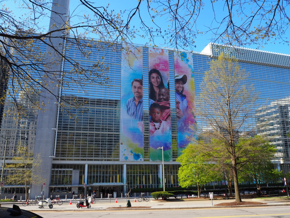 Image 1: The World Bank during the 2018 Spring Meeting