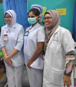 Visits to Klang health clinics 2