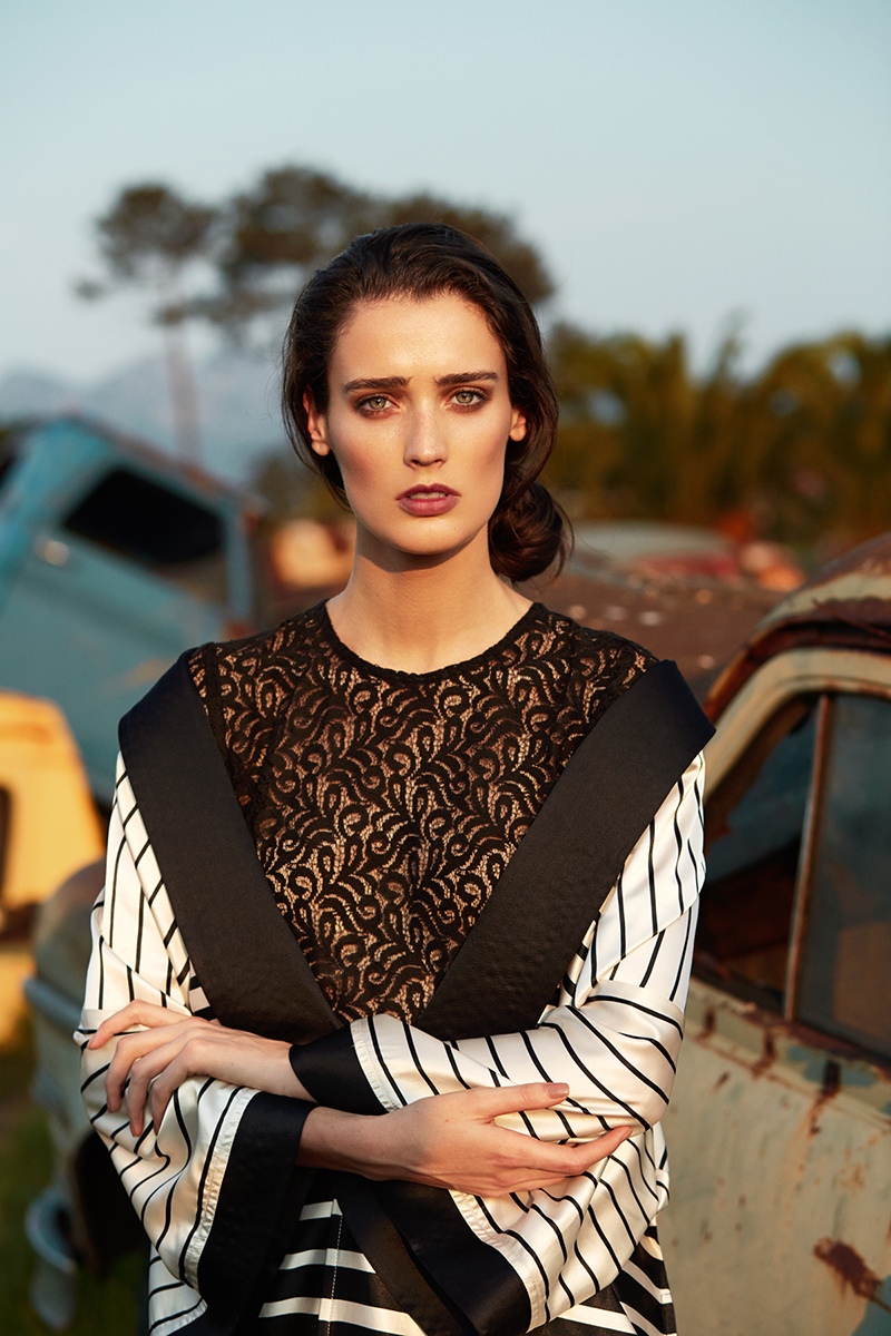 Marizanne Visser for Georgette Magazine by Clive Myburgh 9