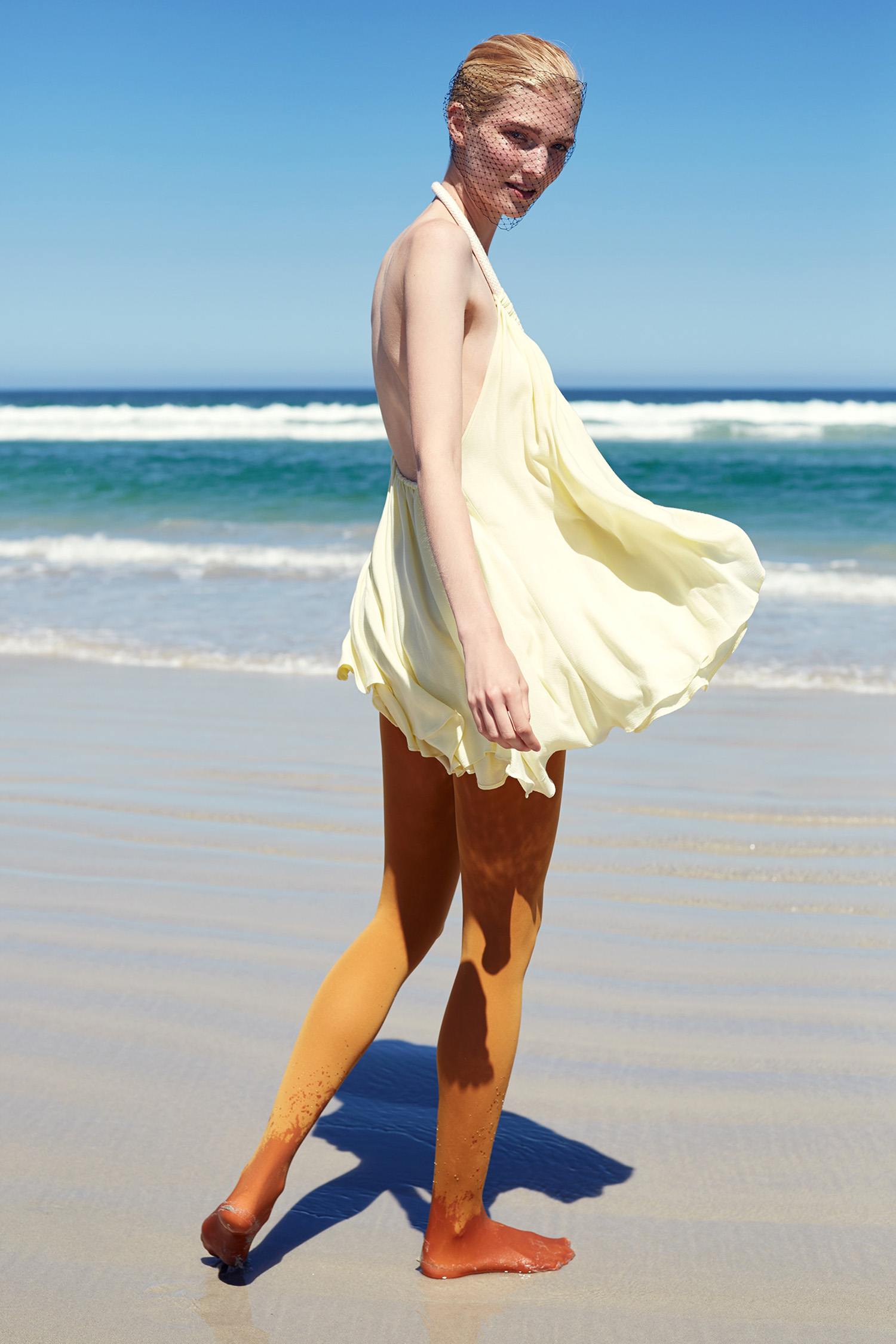 Top,PICHULIK; stockings,Calzedonia