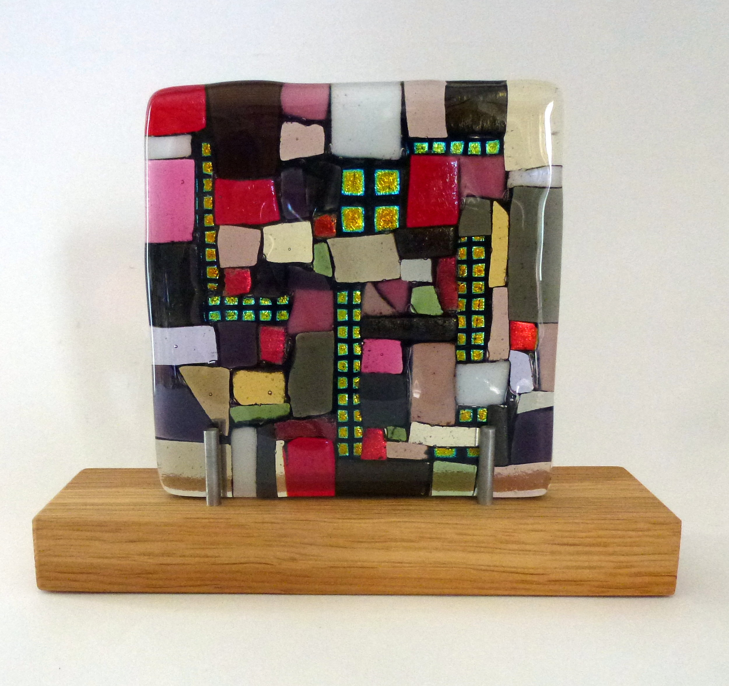 No Way Out – Kiln Fused Glass