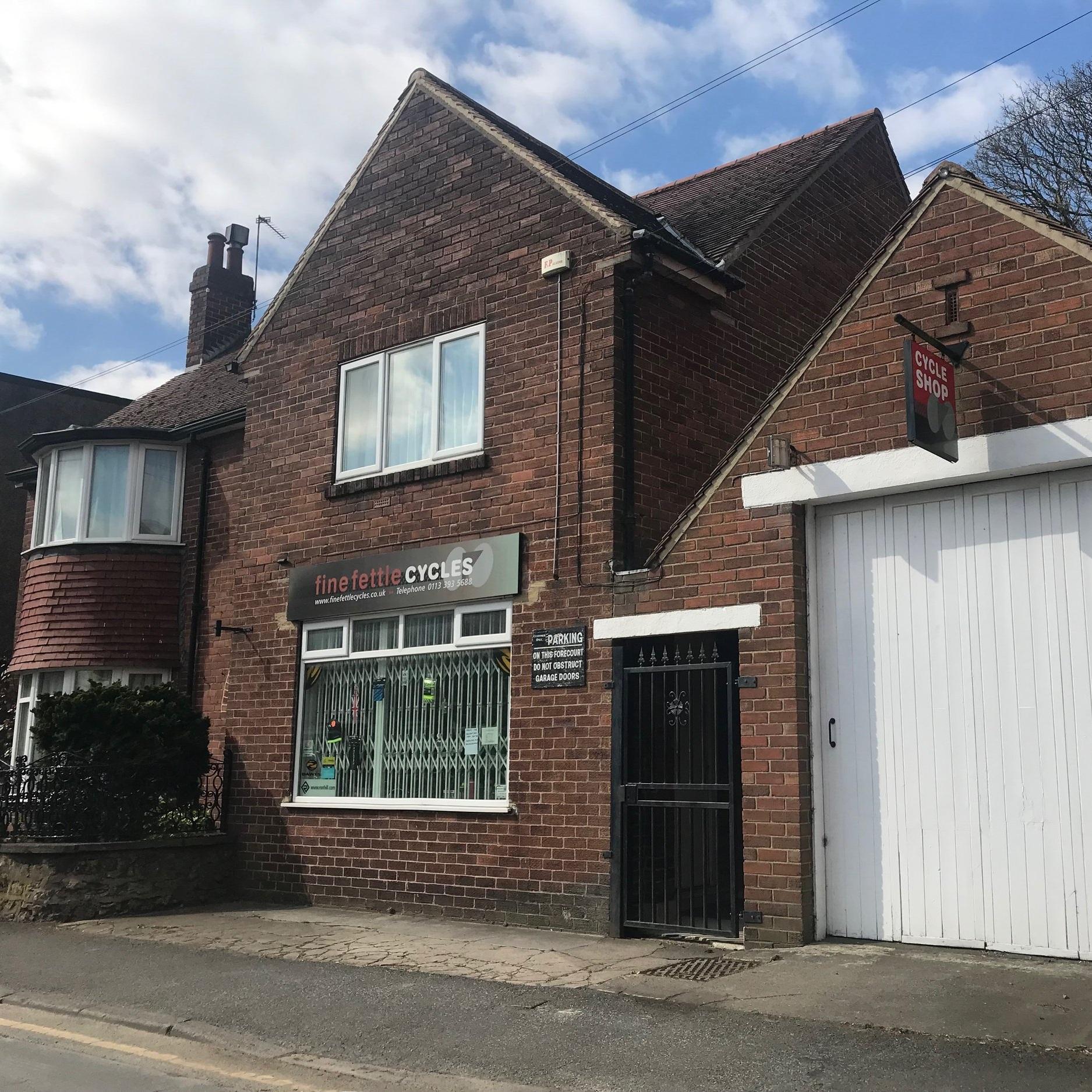 Our first office in Barwick in Elmet