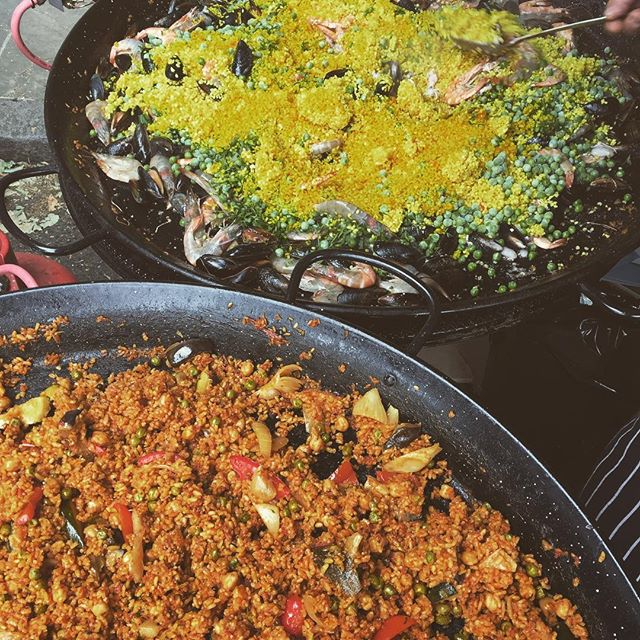 Big paella! #spanishfood #paella #highgate #pub #garden #alfresco #freshfood #foodie #tapas #foodofinstagram