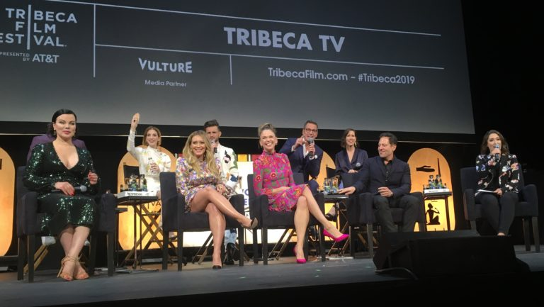 Cast of Younger and creator, Darren Star, at Tribeca Film Festival