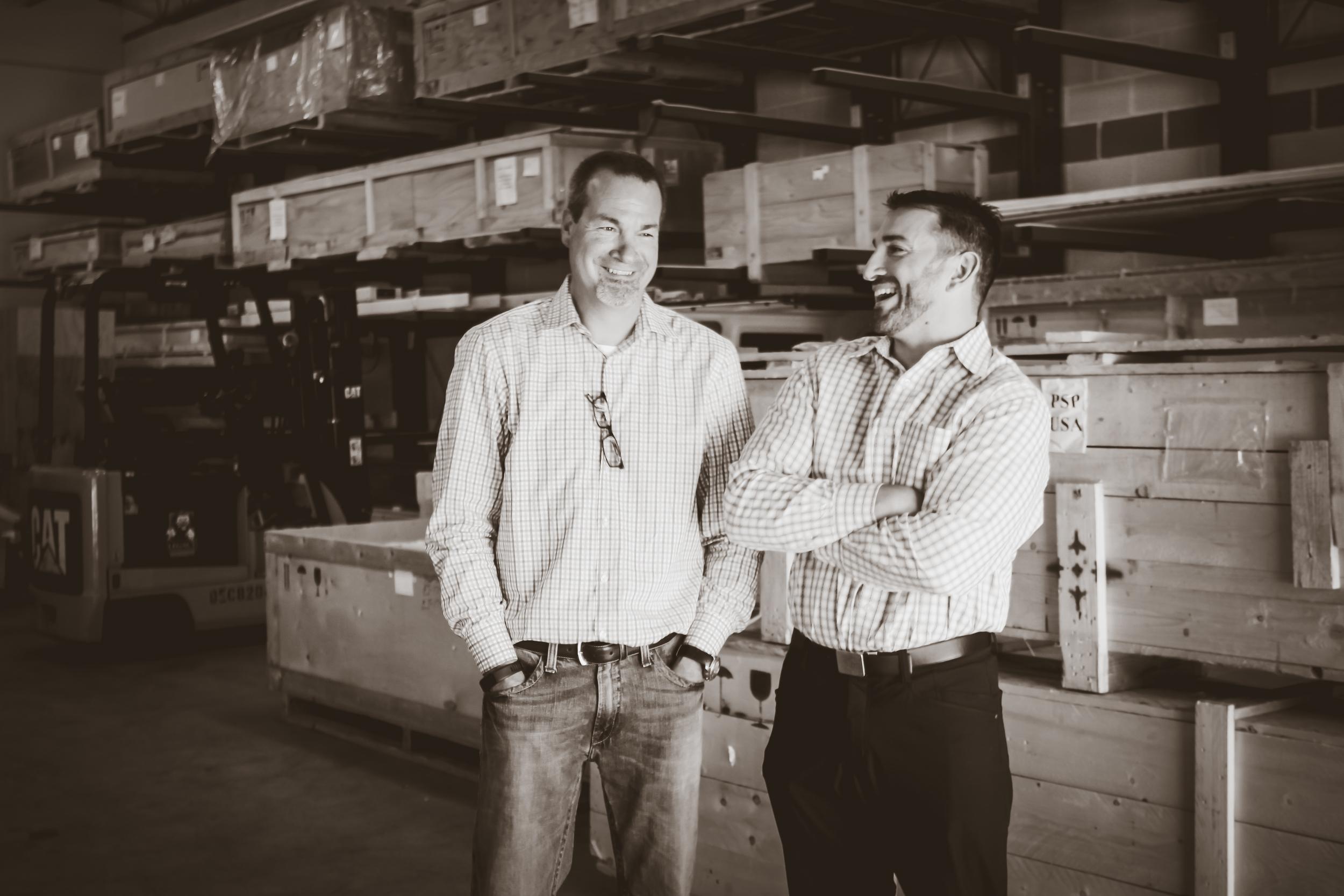 Tony Jones and Alex Franco at PSP Marketing