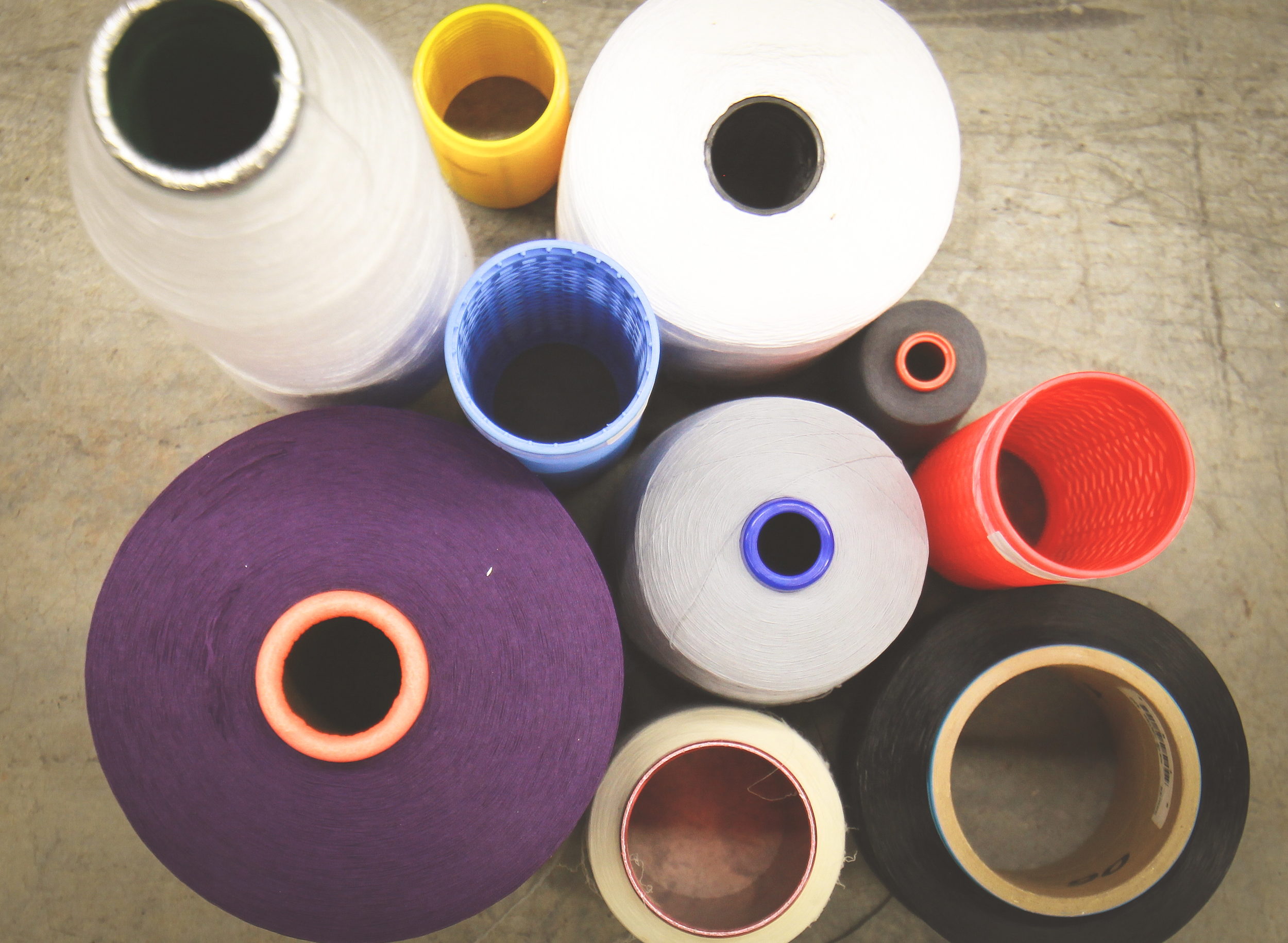 Threads and Yarns Textile Processing