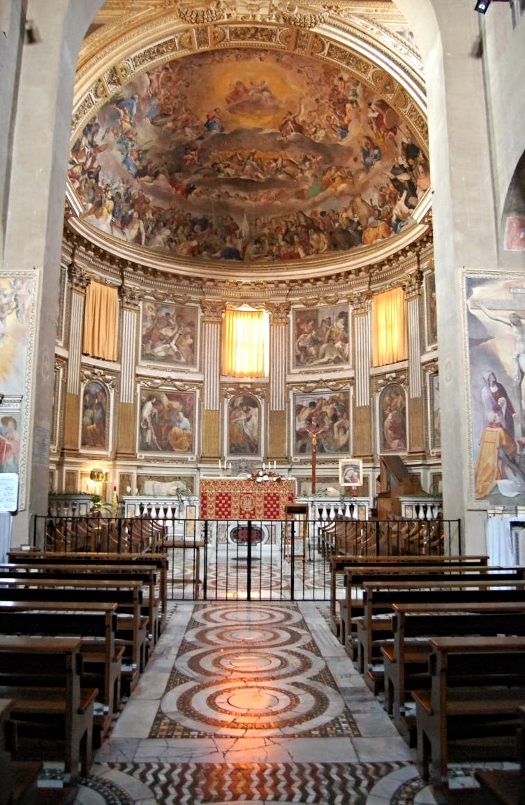 The Basilica of the Santi Quattro Coronati in Rome.