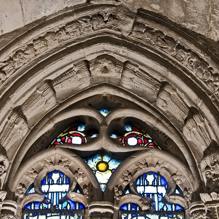 images from our trip to rosslyn chapel.