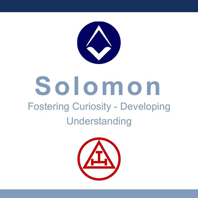 Are you using Solomon? The official learning resource from @unitedgrandlodgeofengland designed to support with your Masonic learning. Solomon contains great resources to help you understand more about Freemasonry generally and the ceremonies, including the Holy Royal Arch. Check it out at http://solomon.ugle.org.uk
