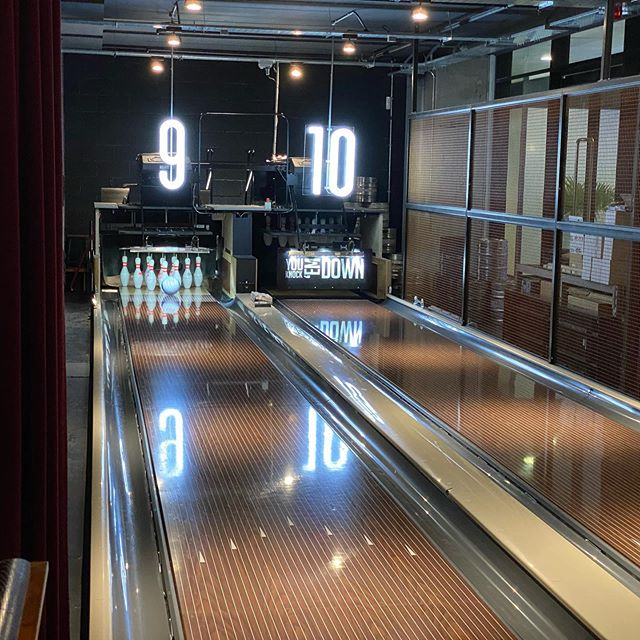 Yesterday was our amazing Lane 7 event. Bowling, beer pong and arcade games together with good company. #Freemasonry #Lane7 @unitedgrandlodgeofengland @nymc_uk @warwickshire_freemasons