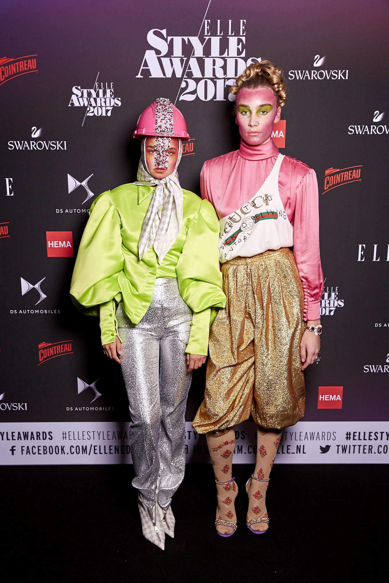 Assistant styling Indi Roma Voss for Elle style awards 2017 Hostessen The Amazing Agency