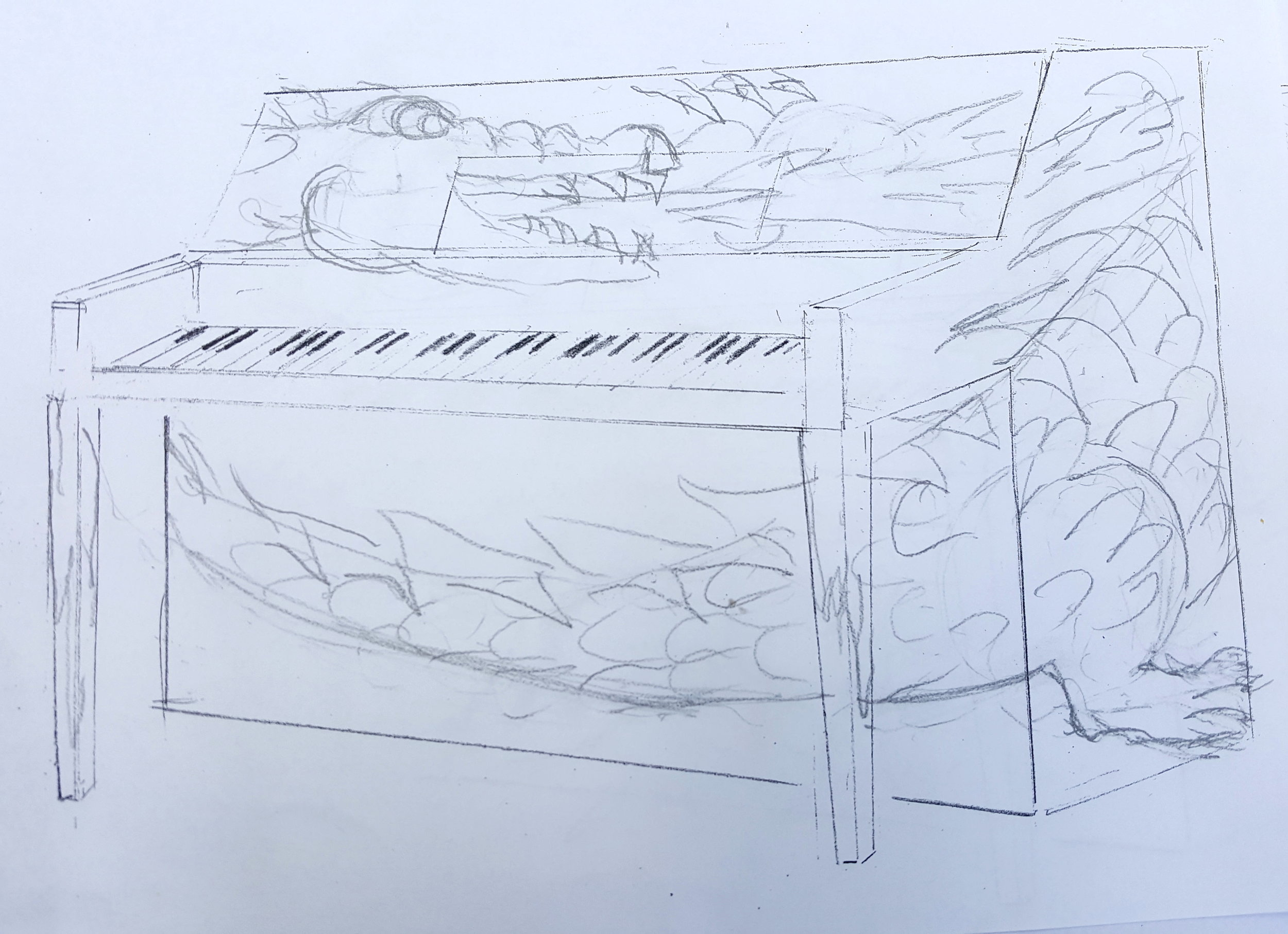 rendering by doug smith for the piano in ashford park in brookhaven ('Aragon').