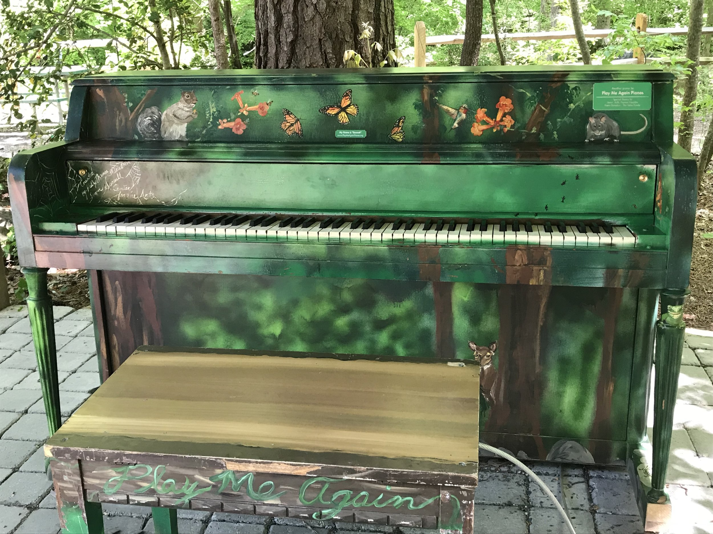 bennett is tuned by  quigley piano technical services