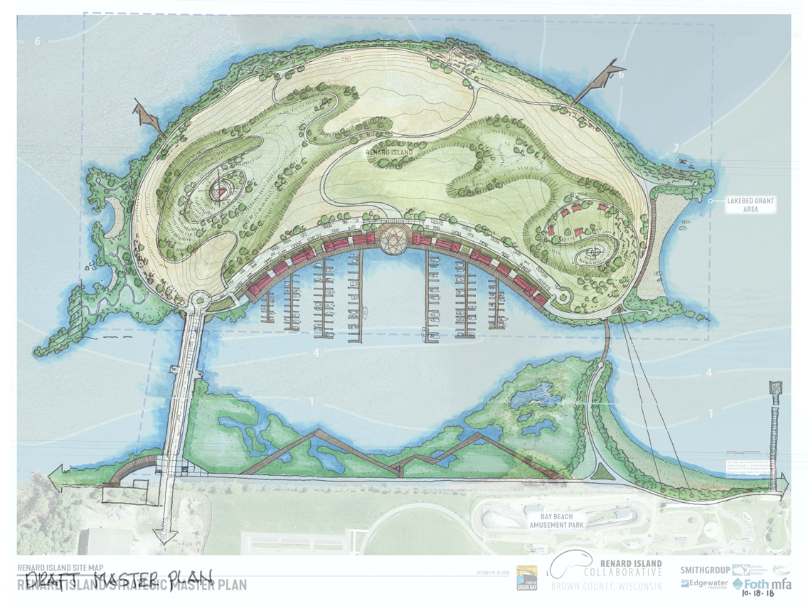 Click the Map for Renard Island Planning Process Presentation