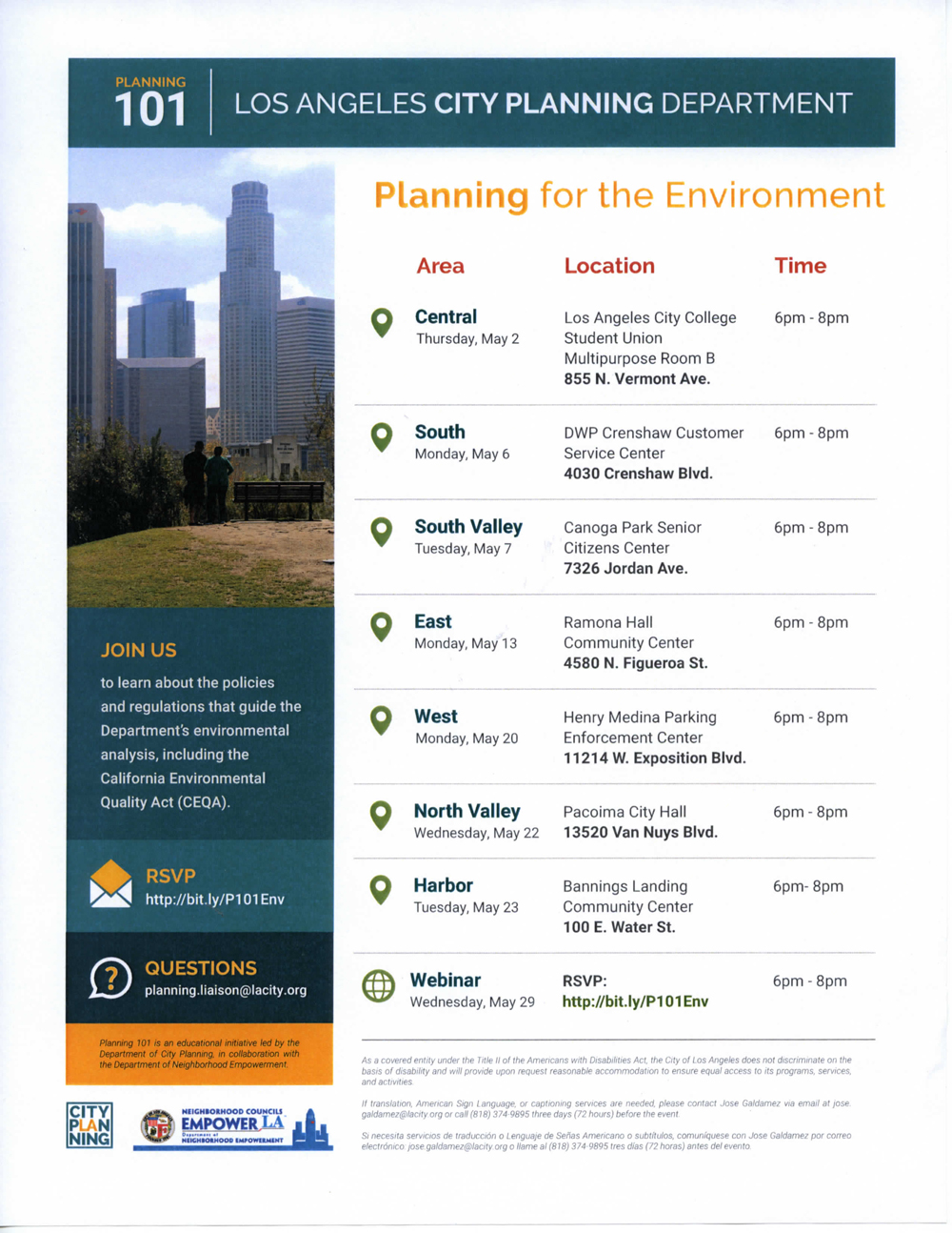 Planning 101 Flyer - Planning for the Environment - handed out to BABCNC by DCP 3-27-19 1000.jpg