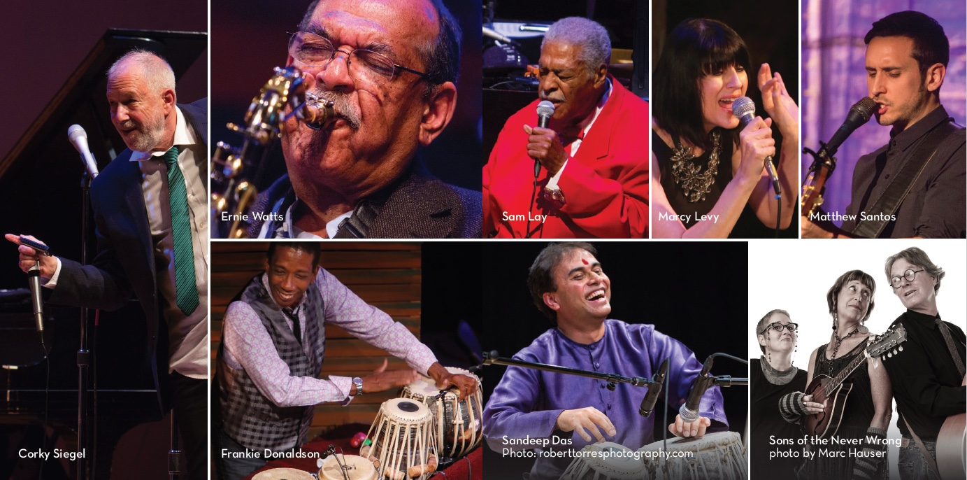 Photos of Corky, Ernie, Frankie, Sam, Marcy, & Matthew by Chuck Osgood. (Sandeep by Robert Torres) (Sons by Marc Hauser)