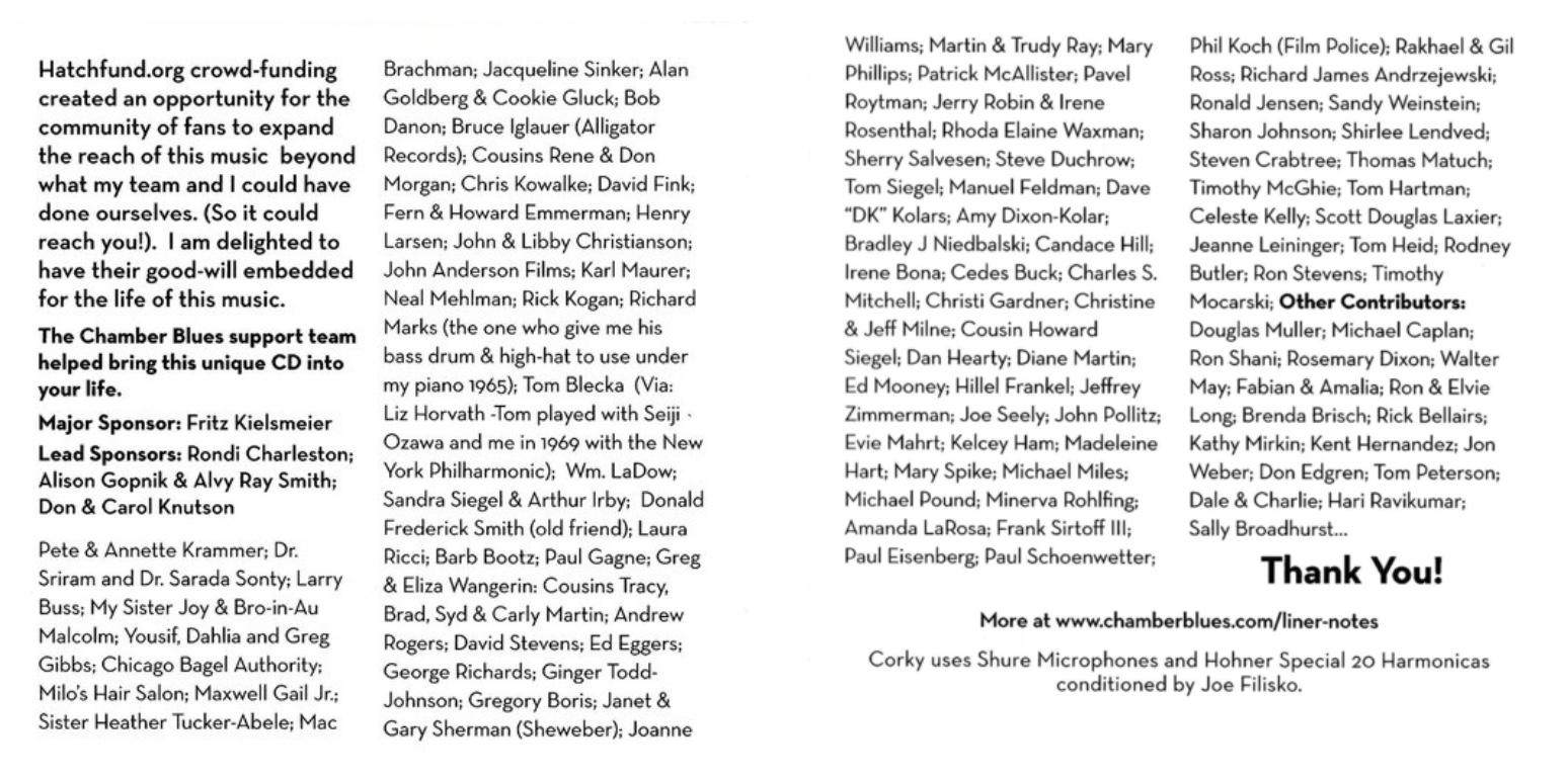 Additional Contributors. Thank you too! Pam Denniston; Norman Weingarden; Shirley Buchanan; Rea Preston; Susan Mazzeri; Steve Ross; Terrilynn Meece; RobertaMontero; Michael Walsh; Martin Mullen-Stewart