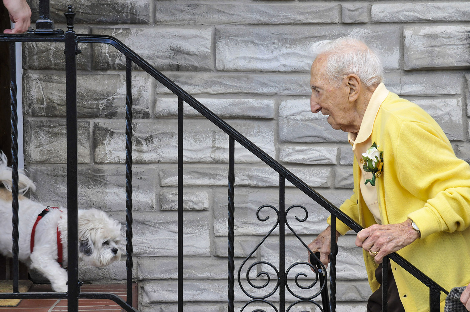 John Pente, Home After His 100th Birthday Party