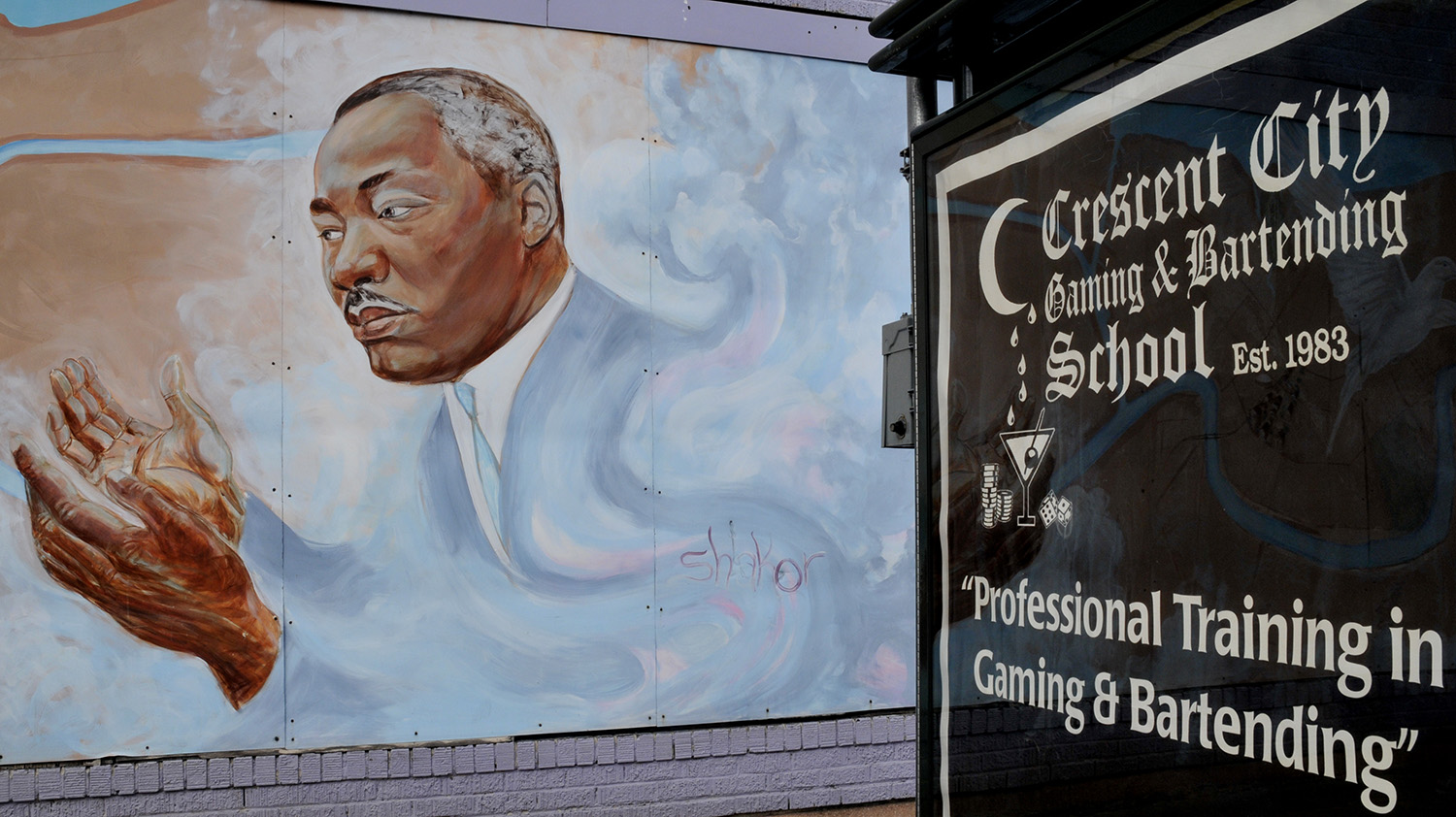 Martin Luther King, New Orleans