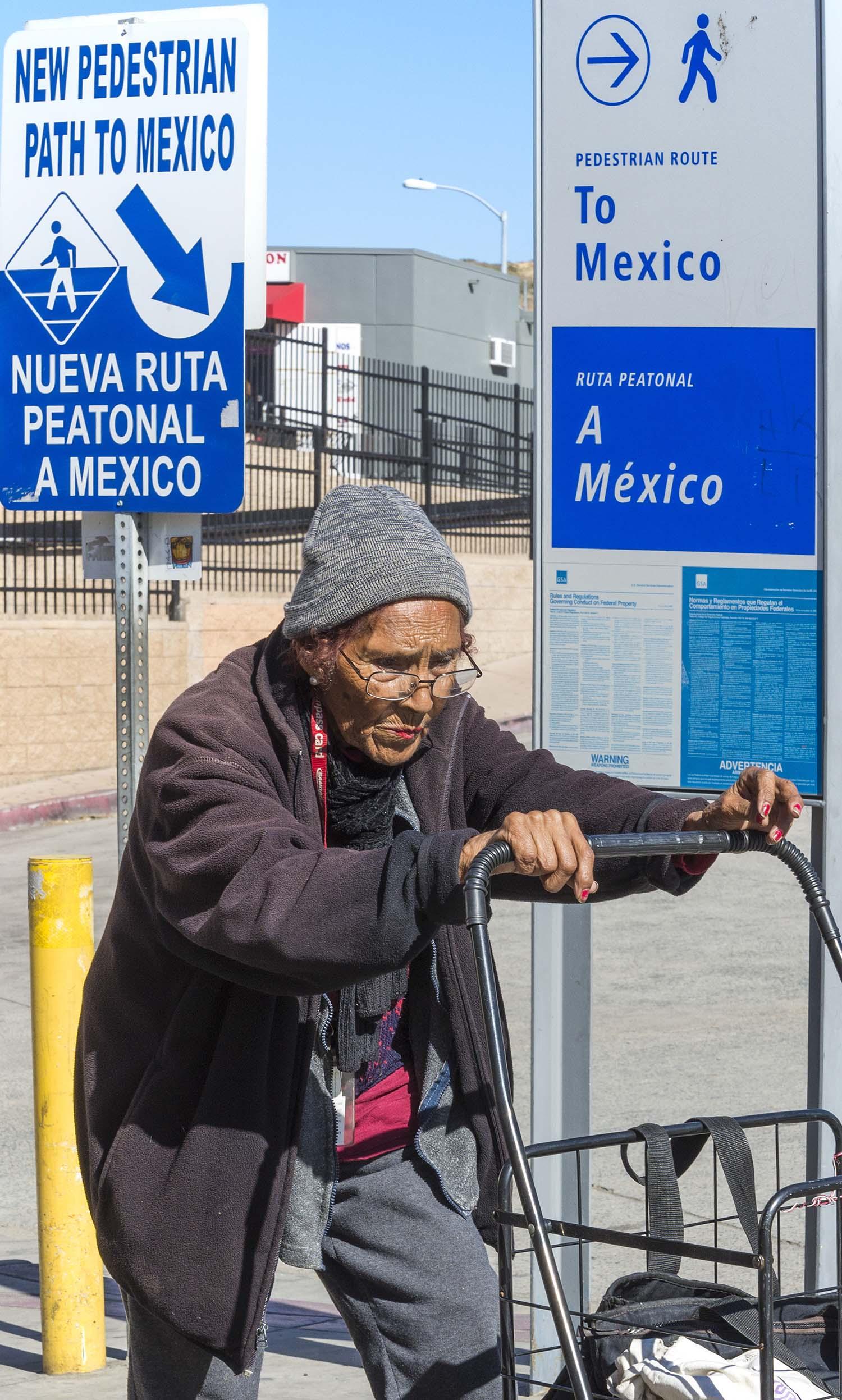 Crossing the Border, San Ysidro, CA.