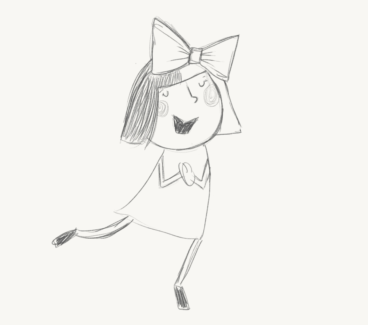 Ever wonder what Sia looked like as a little girl? I did the other day.