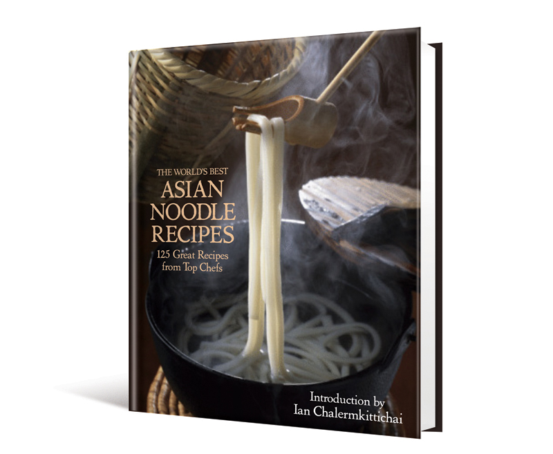 Yum.   Here's a peak at another Race Point upcoming title I'm creating with The Book Shop, Ltd.  The World's Best Asian Noodle Recipes  promises to be the ultimate sampling of noodle recipes from chefs and restaurateurs the world over!