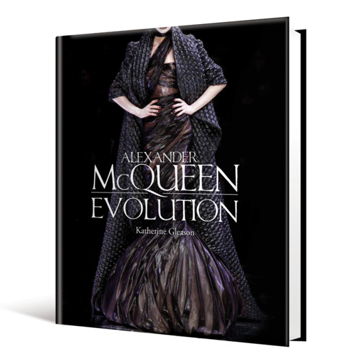 McQueen.   I've been working on this amazing book project for the past couple of months. We're combining elegant page design with photography of some the most daring fashions of our time. Cannot wait for my samples!!!! Alas, there's lots more to do before we get there.