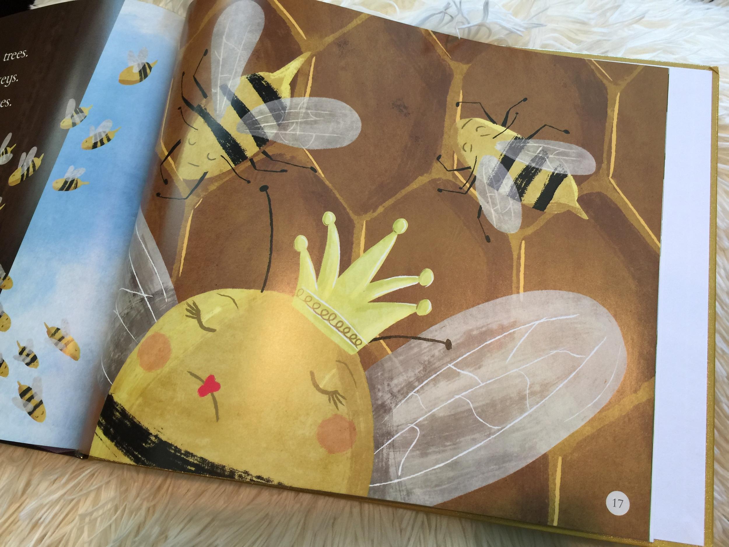 Ah, the Queen Bee.