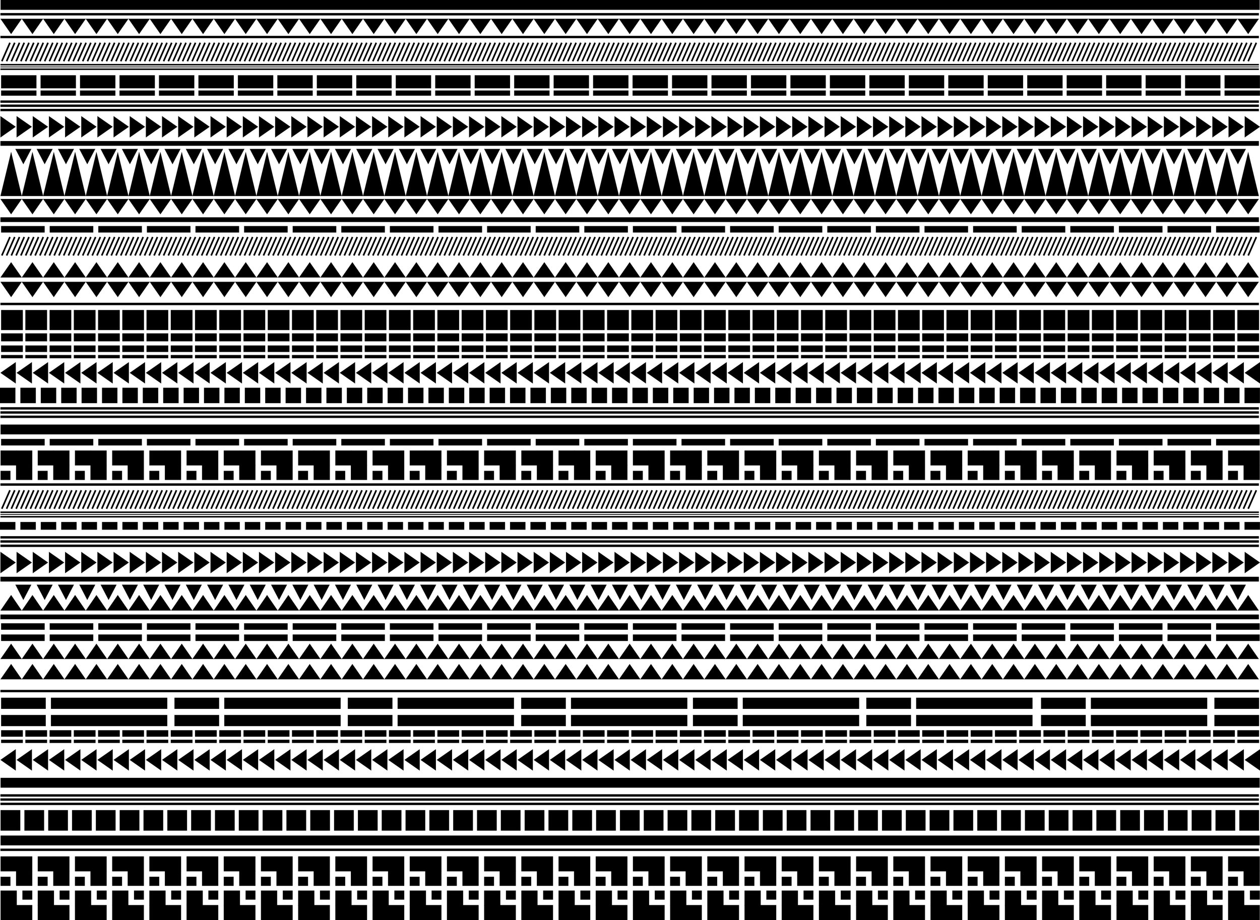Custom Maori Pattern