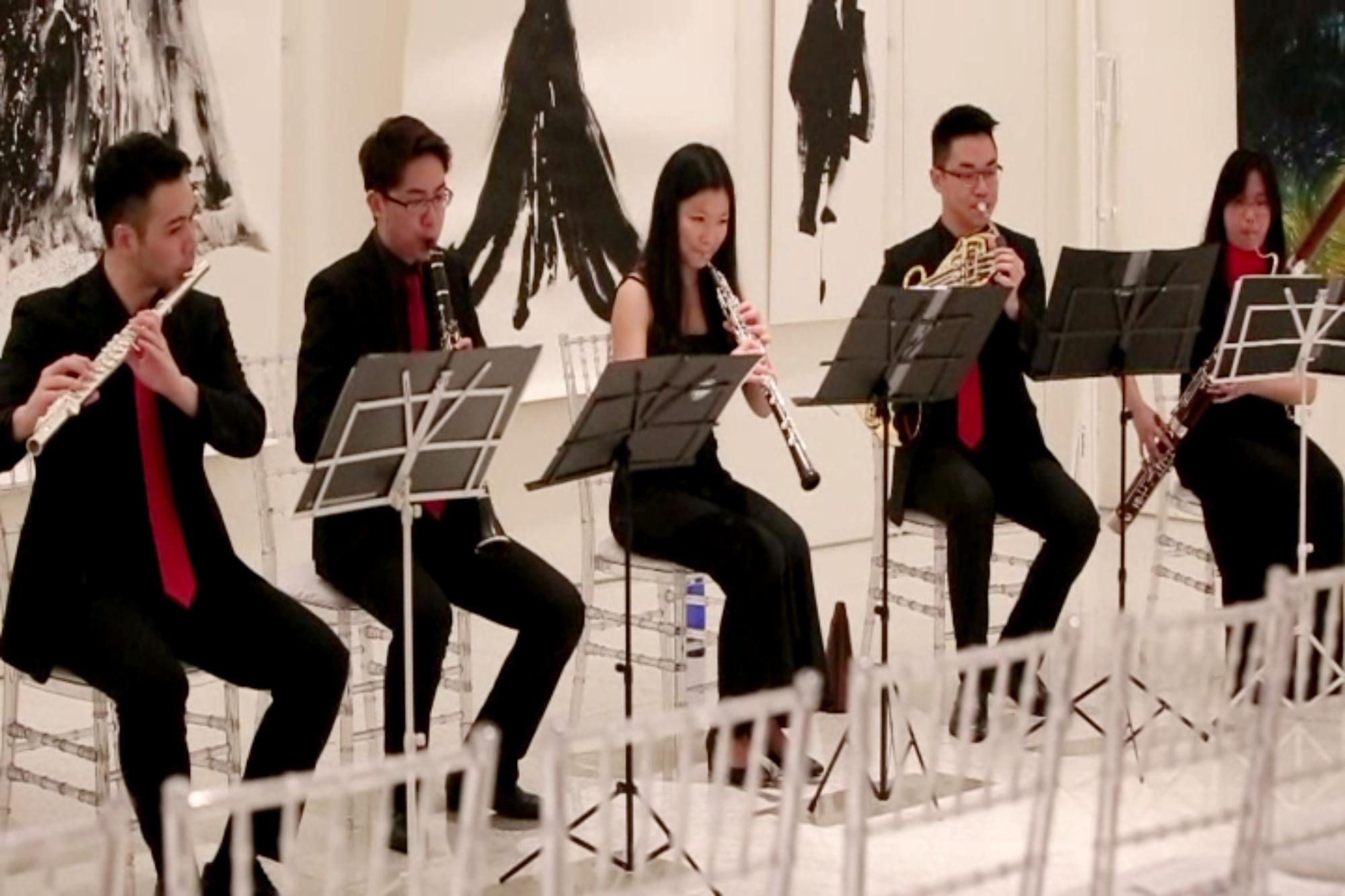 Performance by Quintet EDQ