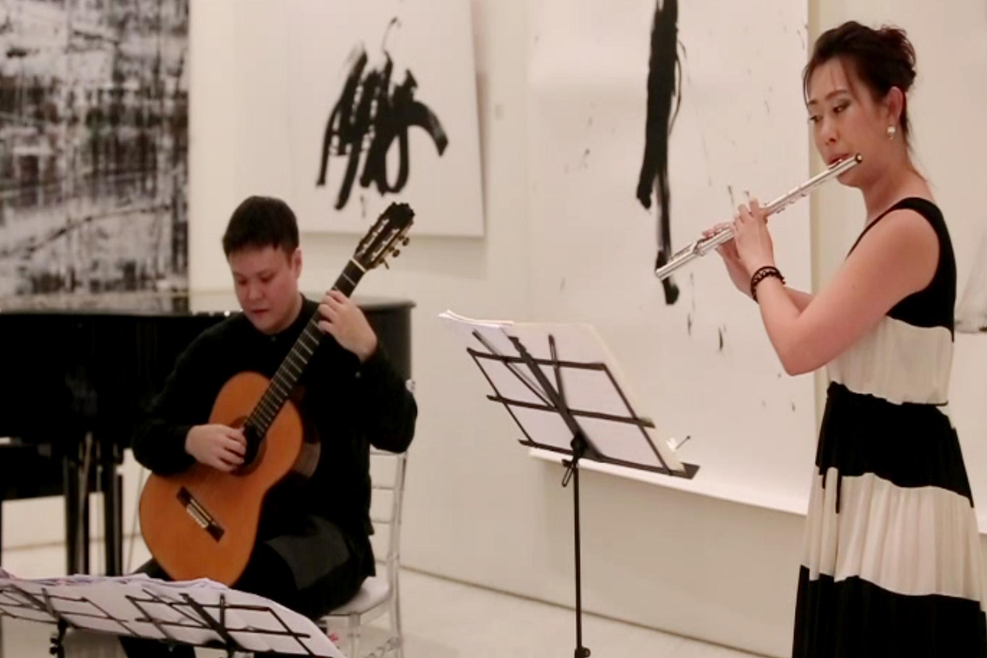 Performance by Hunter Mah & Jill Chen