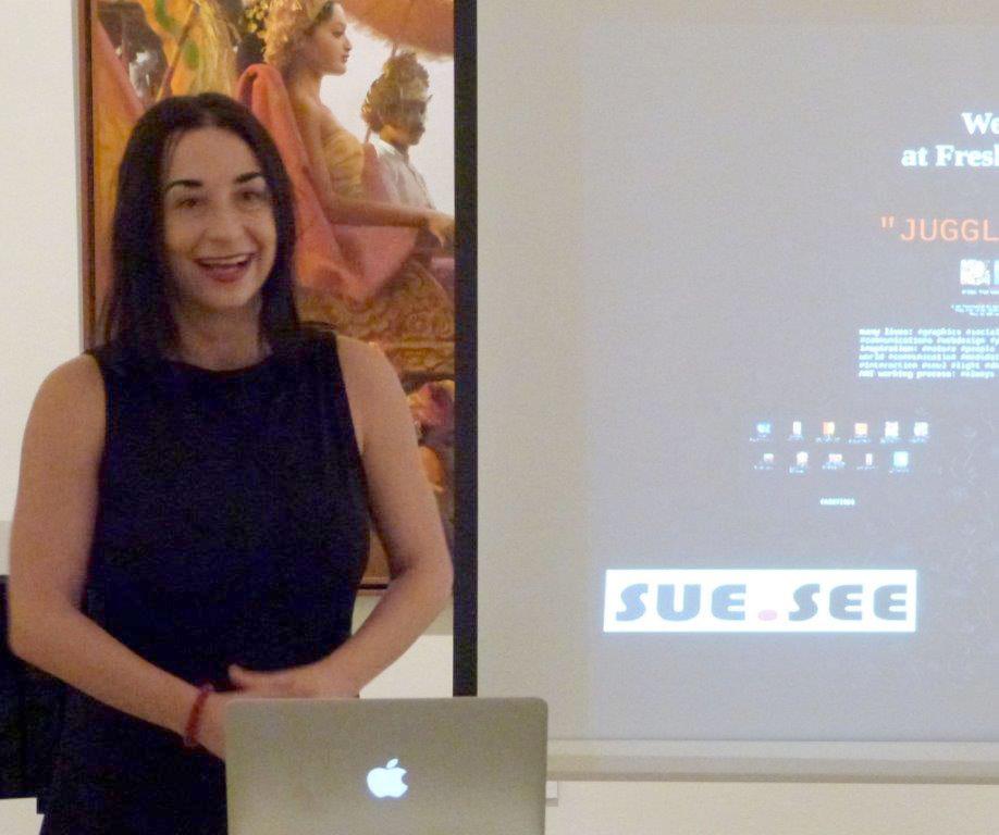 Artist Talk by Sue See