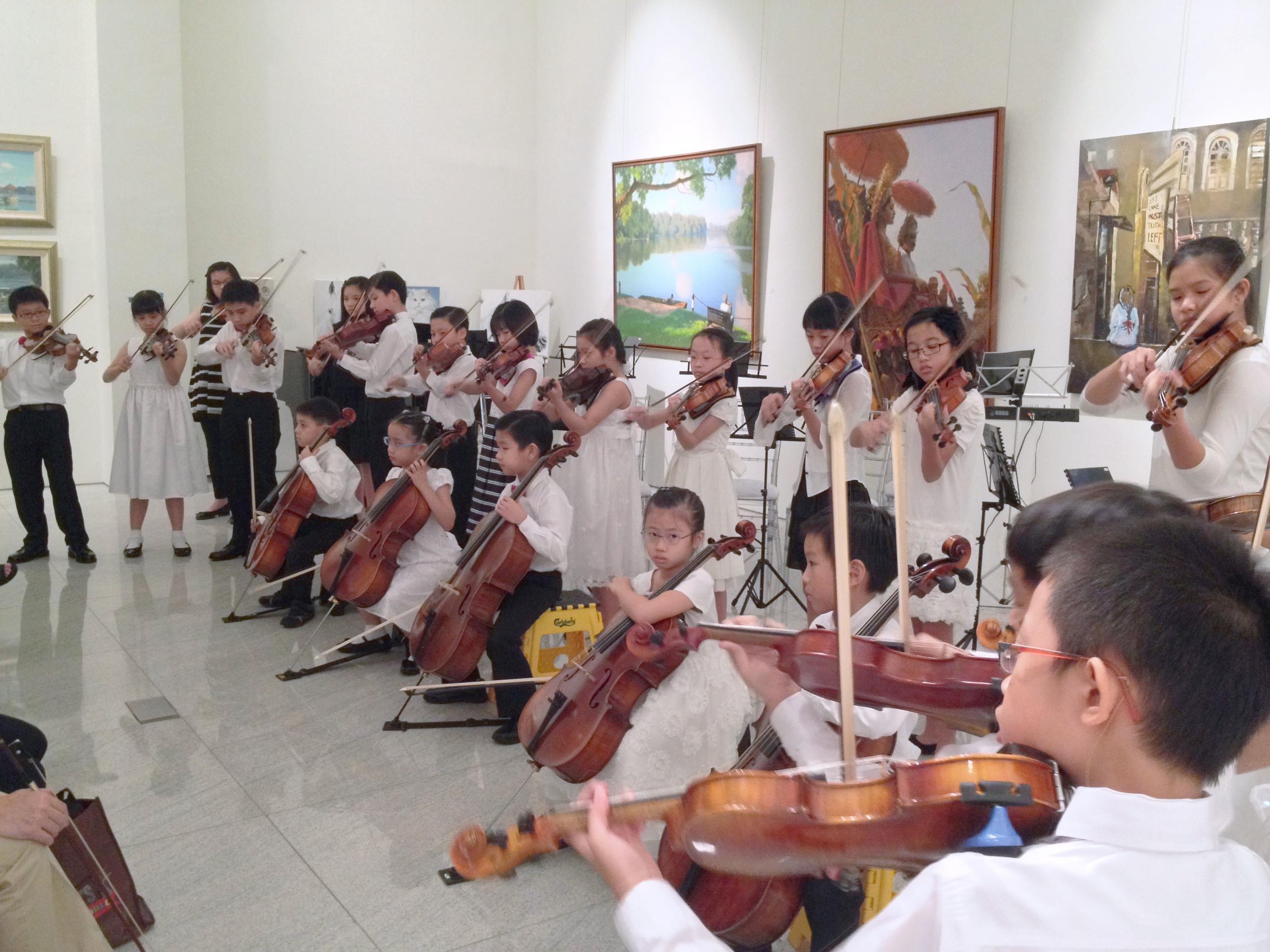 Performance by Joyful Strings
