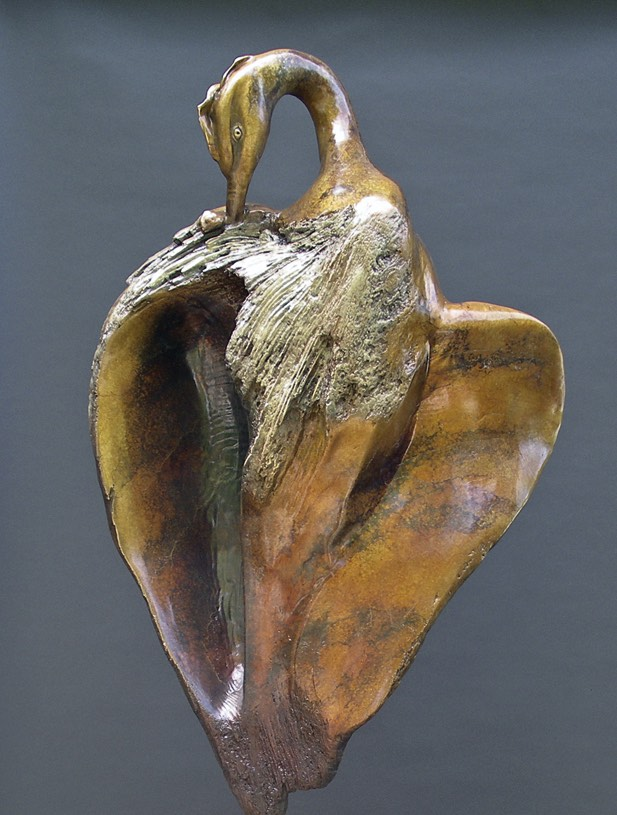 "Of Grace, bronze. 35""x29""x12"". $22,000."