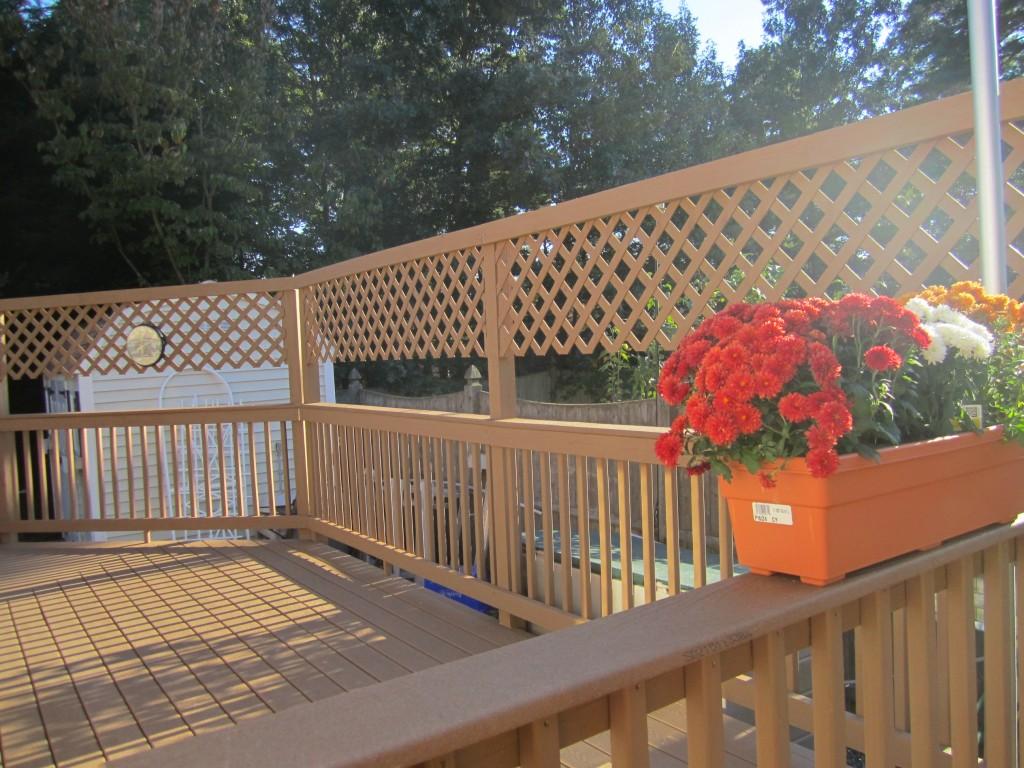 Deck Remodel, Framingham 2011 - After