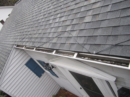 Heat cable installation