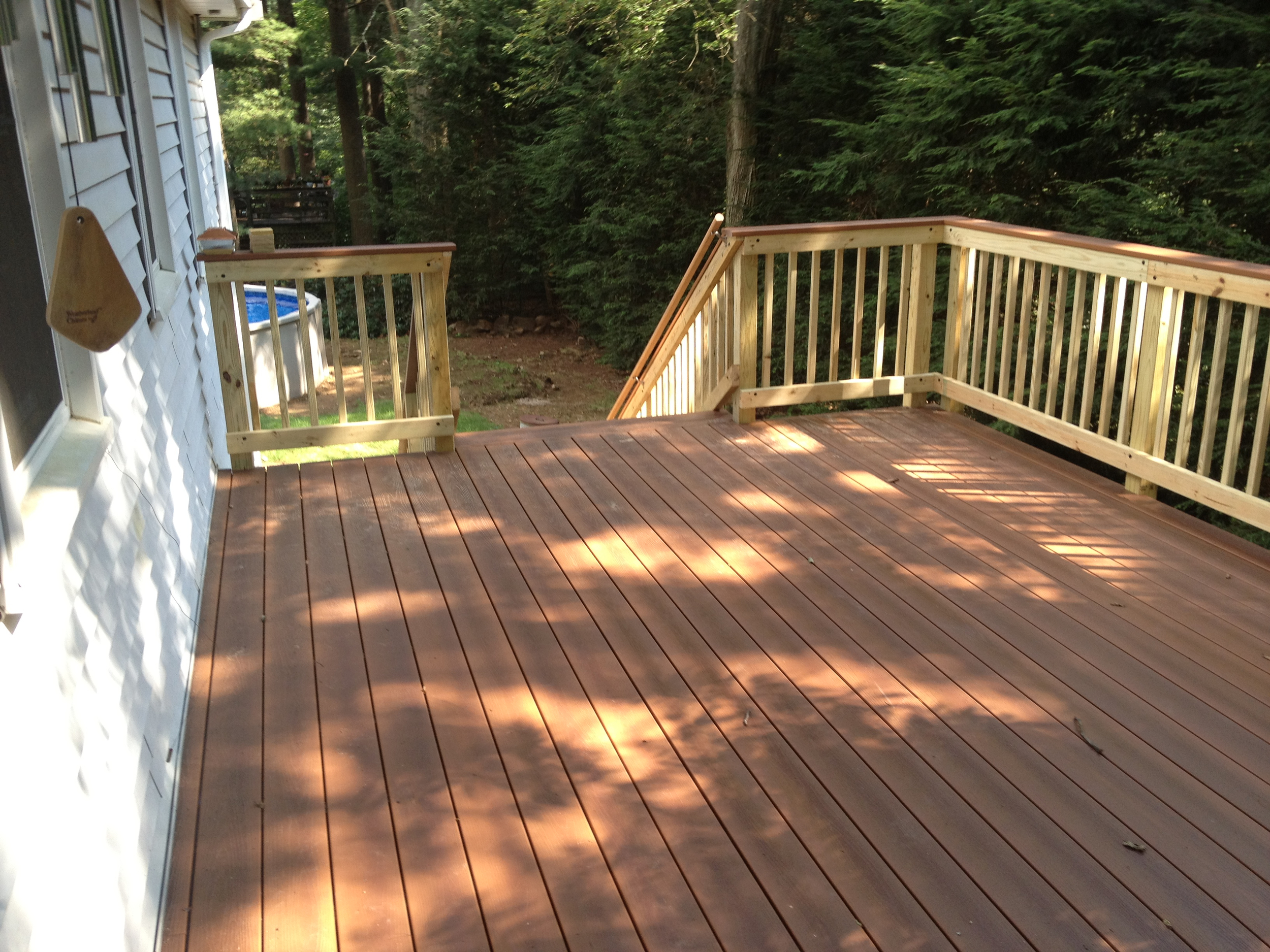 New Composite Decking Project, Medway 2011