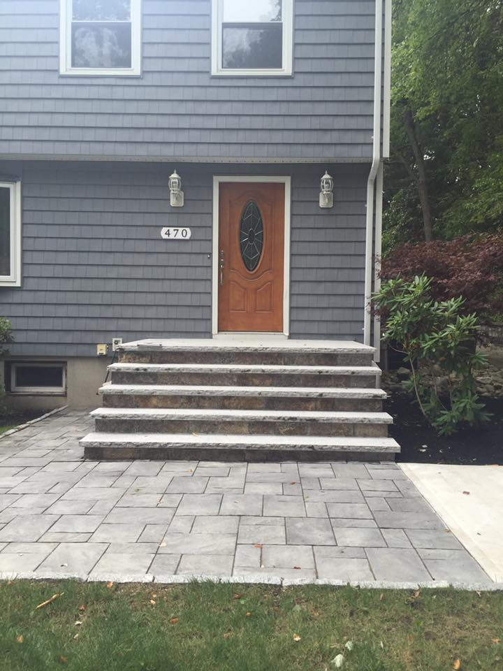 Water Street Portico Before