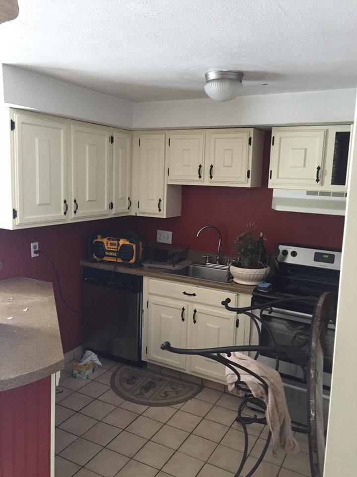 """Before"" Kitchen Remodel, Framingham"