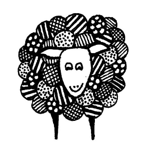 The beautiful logo was designed by the very talented Vivien uniquely for The Wheel Ewe.   Click on the sheep to see some of her other creations.