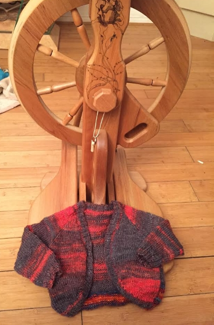 Sandra Shorland, Cornwall = Hi ruth this is what I made from the floss that you sent me with the rose I am so pleased with the wheel ... Sandy  The Wheel Ewe = That's just beautiful, I am very impressed Sandy and so happy you're enjoying the Rose. Happy Spinning, Ruth