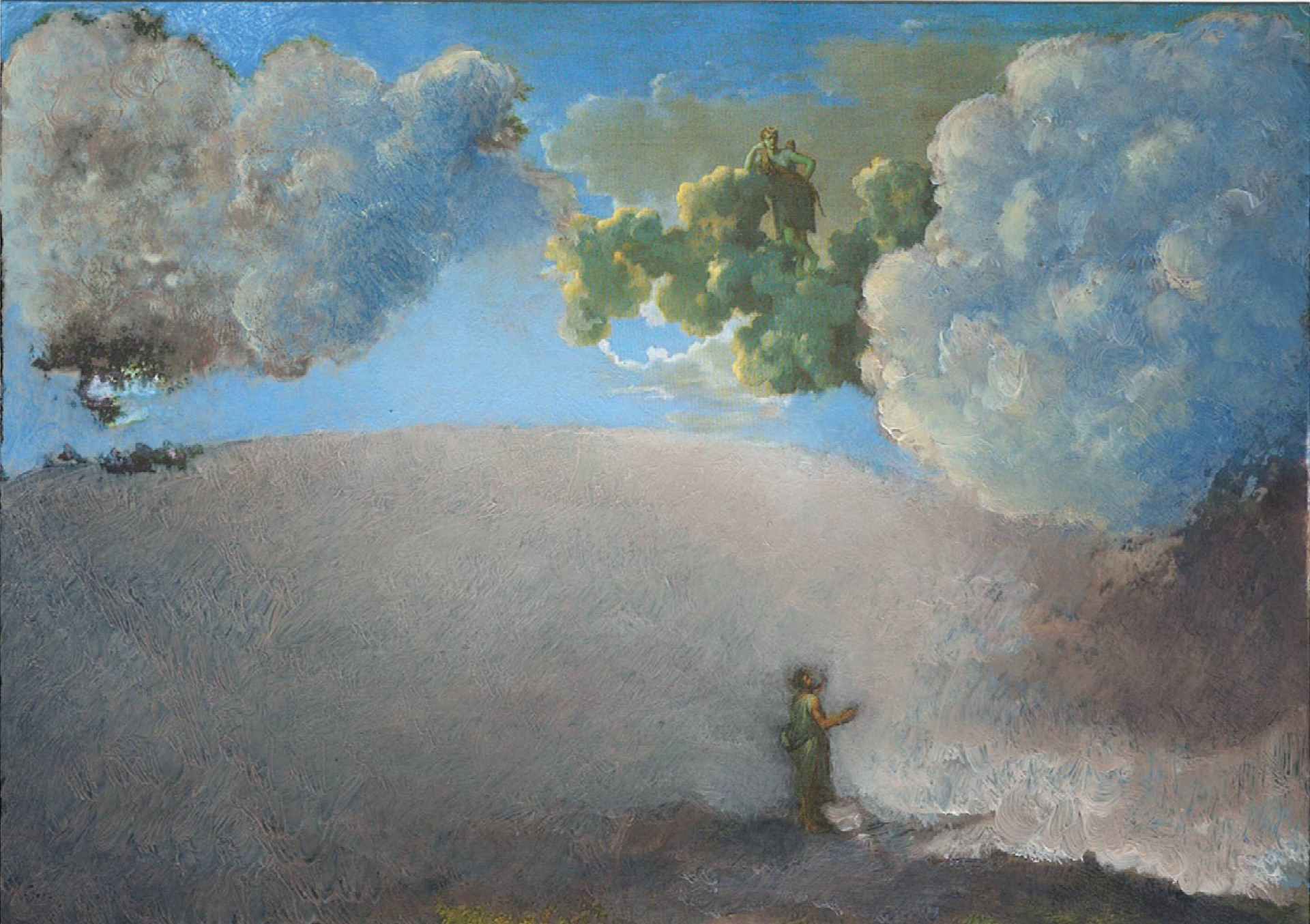 Blind Orion Searching for the Sun, Poussin, 1658, 2012