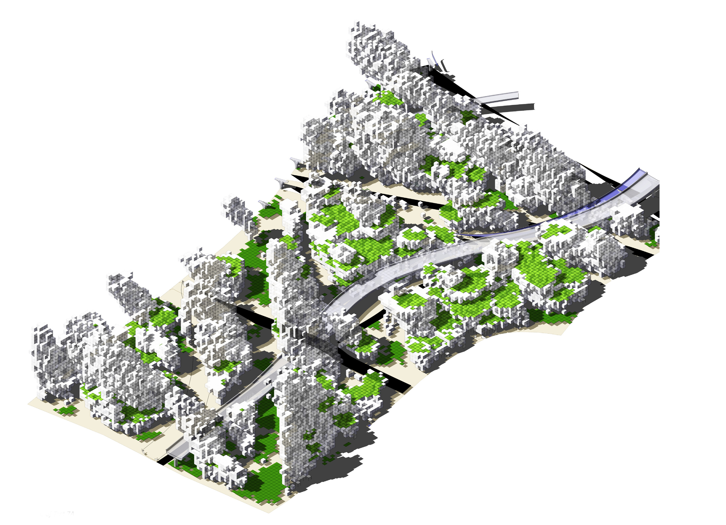 Concrete island - test01