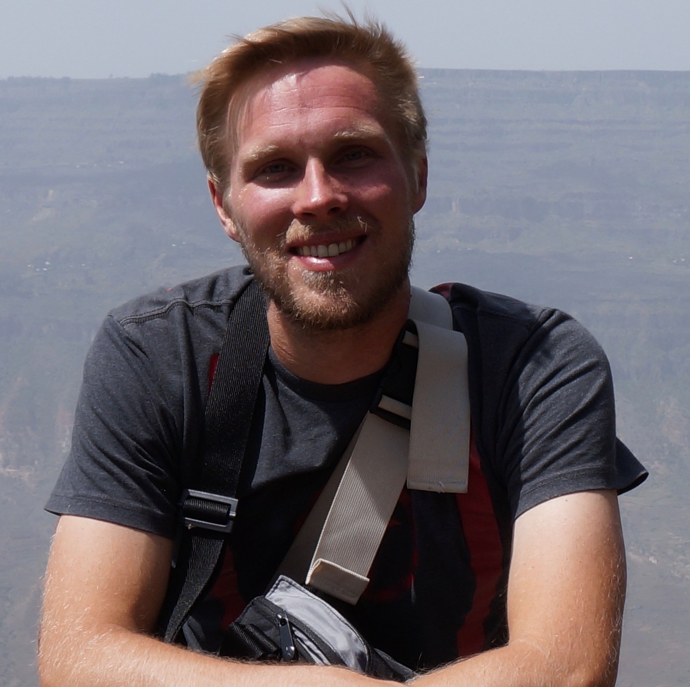 Nicholas Rogerson  Nick is one of the original co-founders of GFI. He teaches Philosophy at the University of Toledo and is currently completing an M.A. at Georgetown's School of Foreign Service, in Washington, D.C. He likes food, travel, books, and being outside.
