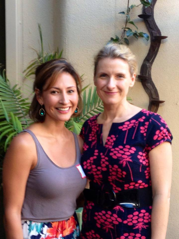 Elizabeth Gilbert and I in 2013