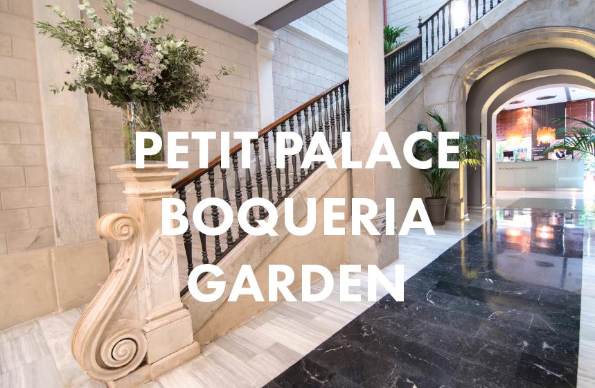 Petit Palace Boquería Garden , green spot with a garden and patio, two minutes far from the Ramblas.