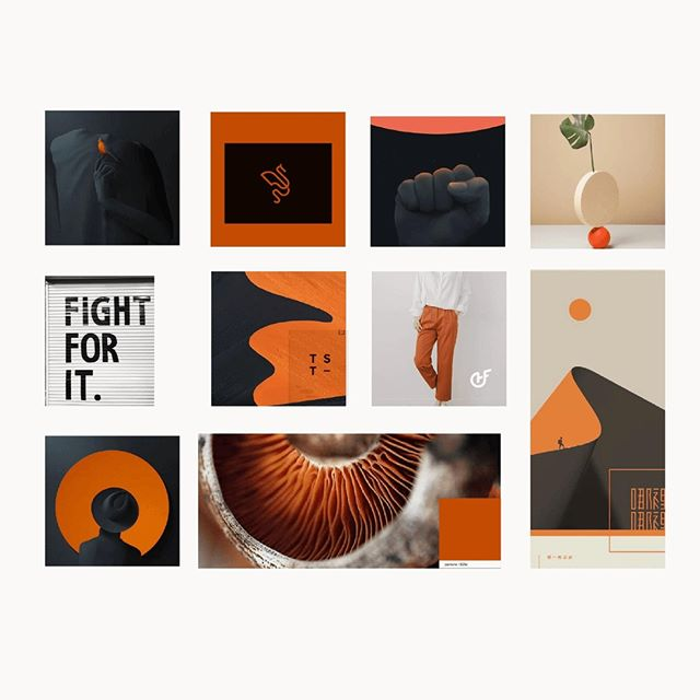 Moodboard, that was created back for paths intersect identity project 😊