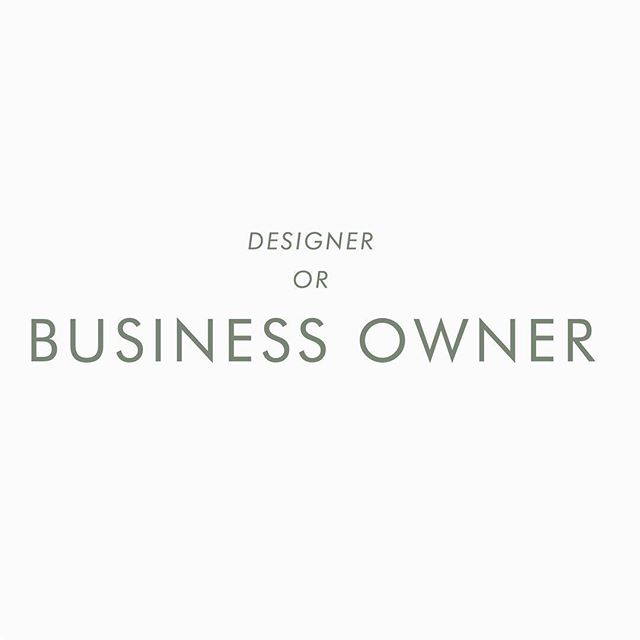 Being a designer and managing a business is very different for me even though from the outside everyone else see you as just the designer! not the person who tries to manage 100s of things at the same time(finance, marketing, networking, managing your working process, client communication, etc) oh and being a mom at the same time too! while trying to keep your sanity and be normal human being at the same time, and am just starting people really,  am only been officially in business for a year now, and honestly there is a lot of things I would rather just not to do (bookkeeping is on my top list :D) , but if there is anything I have learned so far is to keep it simple, don`t distract your self with 1000s of things at once because you can get lost easily especially when you don`t know where to start, and focus on only one thing at a time, take time to understand each section of your business and most importantly understand that what might works for others not necessary would work with you, so instead of trying to do the same things, do what make more sense to you and within your business, also its totally fine to screw up many times along the road :) . . . . . . . . .