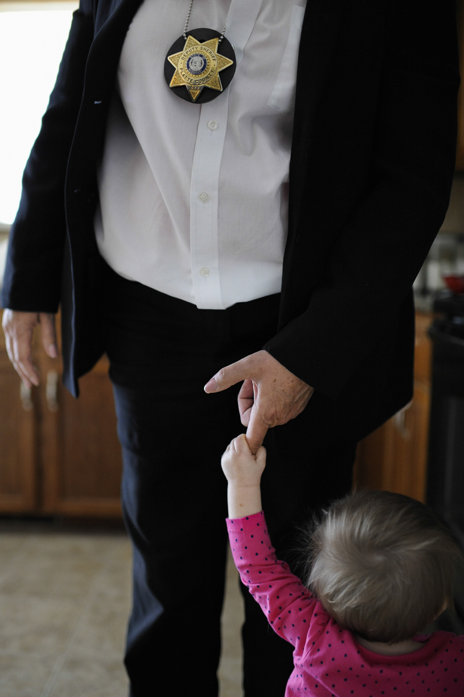 With so much time spent at work, Detective Penrod relishes the moments she can spend at home with her grandchildren.