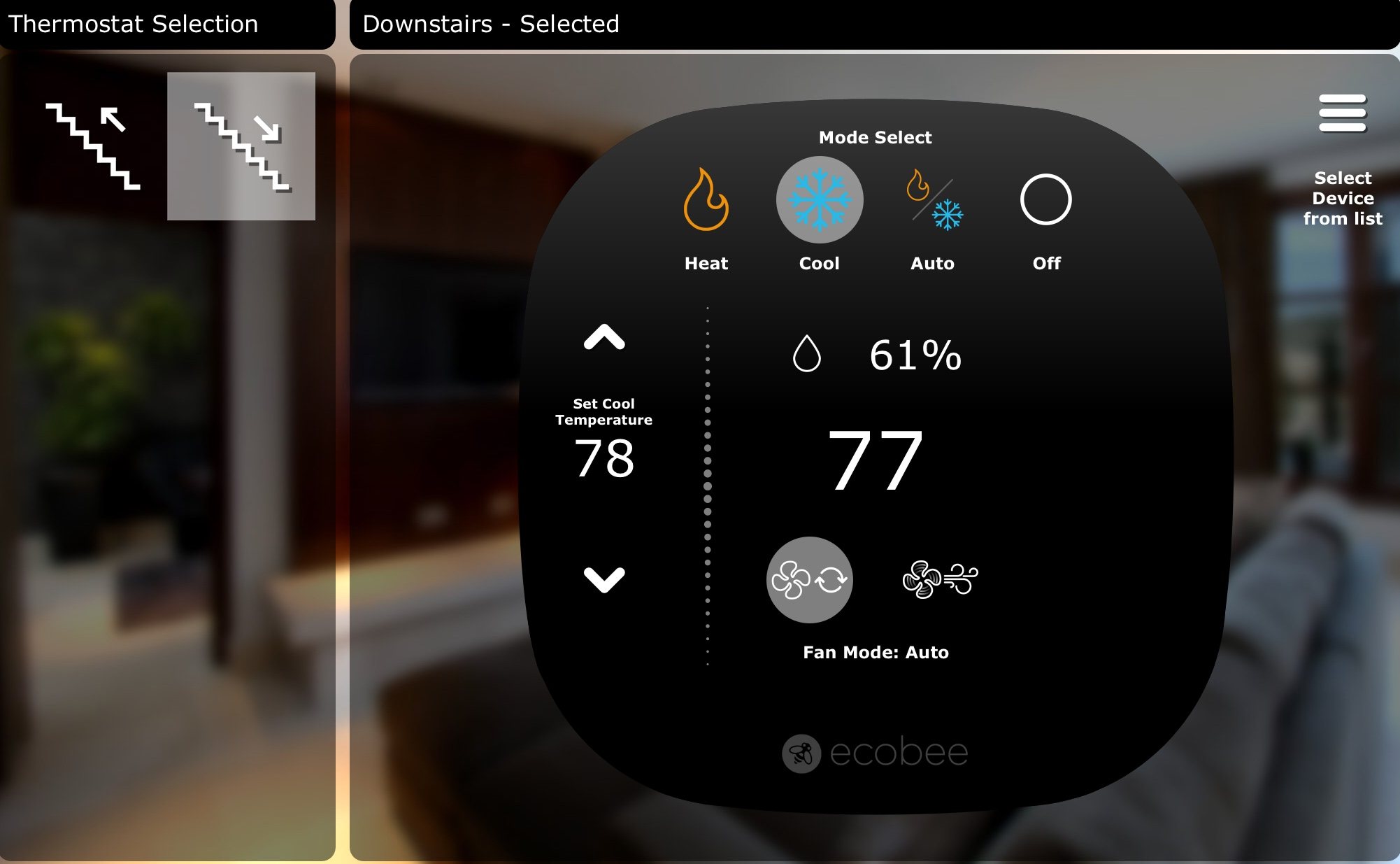 Ecobee is our favorite smart home thermostat.